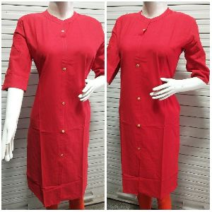 plan cotton kurti
