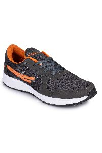 Orange & Grey Sports Shoes