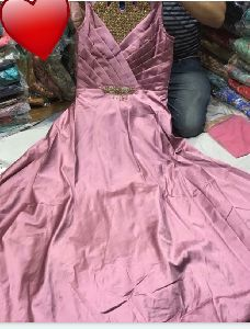 Designer Silk Gown