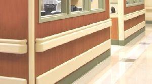Hospital Corridor Wall Protection System