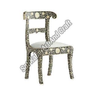Bone Inlay Dining Chair