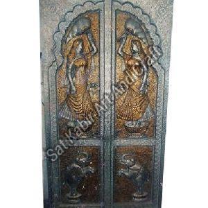 Brass Handicraft Door