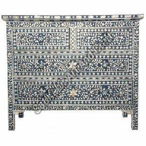 Mother of Pearl Inlay Drawer Chest