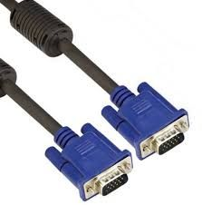 VGA1.5M 1.5 m VGA Cable (Compatible with Computer, Black, One Cable)