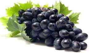 Fresh Sharad Black Seedless Grapes