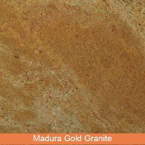 Madura Gold Granite Slab, Thickness: 20-25 mm