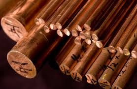 Copper Round Bars And Sheets