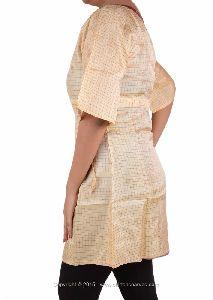 Art Silk Woven Tunic Bollywood Kurta Kurti