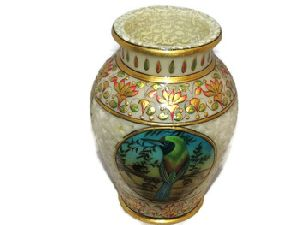 Marble Vases Engraved Handicrafts