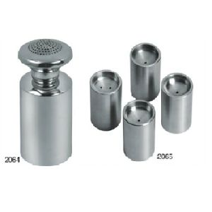 Simple Stainless Steel Salt And Pepper Set