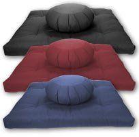 Meditation Cushions, Bolsters