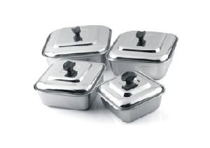 Steel Lid Bowl