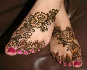 Customized Henna Sticker Tattoo