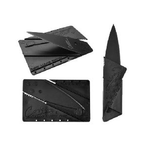 Credit Card Folding Pocket Knife