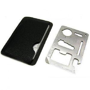 Wallet Knife 11 In 1 Stainless Steel