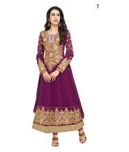 Semi-stitched Anarkali Salwar Kameez