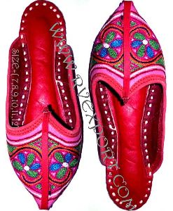 Embroidery Work Ladies Sandals