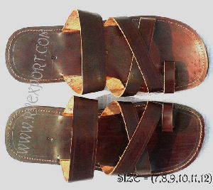 Leather Sandals For Man's