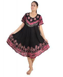 Summer Short Sleeve Maxi Dress