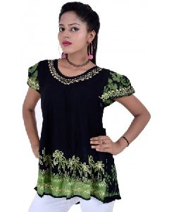 Wevez Women And Girls Embroidered Tops