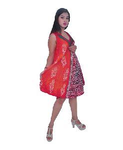 Women Sleeveless Summer Sun Dress