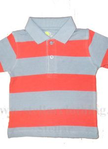 Kids Yarn Dyed Polo T-shirt..