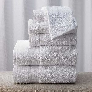 Cheap Custom Logo Terry Cotton Hotel Bath Towel