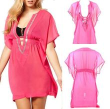 Handmade Swimsuit Beautiful Chiffon Beach Kaftan