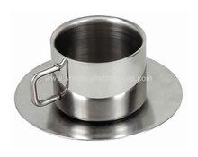 Double Wall Stainless Steel Tea Mug