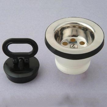 """Sink Strainer (2.5""""  with Plug)"""