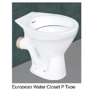 P Trap Western Toilet Seat
