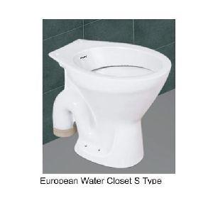 S Trap Western Toilet Seat