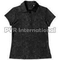 Ladies Knitted Polo T-shirts