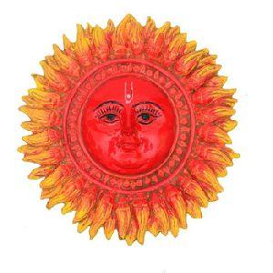 Sun Face Wall Decor