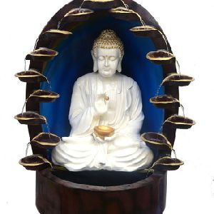 White Buddha Fountain
