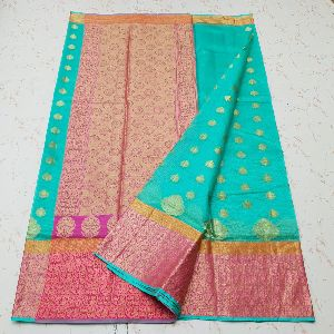 Kota Doria Silk Weaving Saree