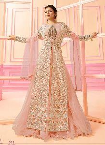 Women Salwar Kameez Designer Orange Color