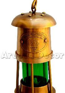 Garden Brass Hanging Lantern
