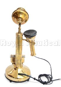 Nautical Brass Telephone Old Style