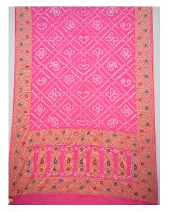 5de7fa3de6 Bandhani Sarees in Jamnagar - Manufacturers and Suppliers India