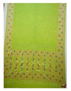 Dani Design Bandhani Gadhwal Silk Saree