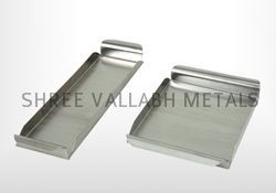 Stainless Steel Square Service Tray