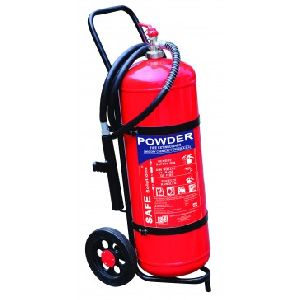 50 Kg DCP Trolley Type Fire Extinguishers