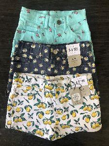 Kids Girls Shorts All over print Brand - Denim Co (Original)