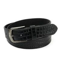 Real Leather Strap Pin Buckle Mens Belts