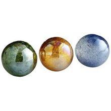 Color Glass Decorative Ornaments