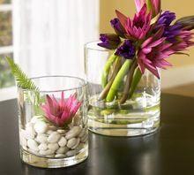 Glass Painted Flower Vase