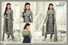 Pakistani Long Plazo Salwar Suit