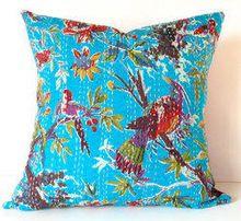 Bench Kantha Cushion Cover