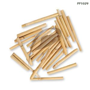 High Finished Dried Mini Bamboo Slice For Decoration